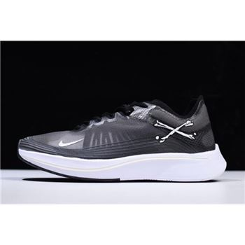 NikeLab Zoom Fly SP Black Grey White AA3172-010 On Sale Free Shipping