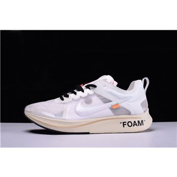 Off-White x Nike Zoom Fly White Virgil Abloh's The Ten AJ4588-100