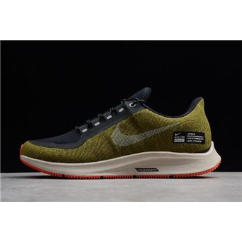 Nike Air ZM Pegasus 35 Shield Olive Flak/Metallic Silver AA1643-300