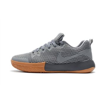 Nike Zoom Live II EP Cool Grey/Gum Men's Basketball Shoes