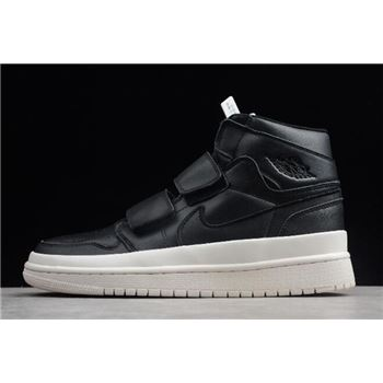 Air Jordan 1 High Double Strap Black/Gym Red-Sail AQ7924-001