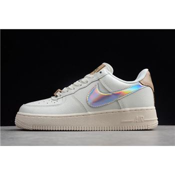 Nike Air Force 1 Low QS YH 18 Sail/Metallic Silver AV2038-100
