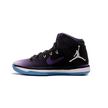 Air Jordan XXX1 Black/Purple-White