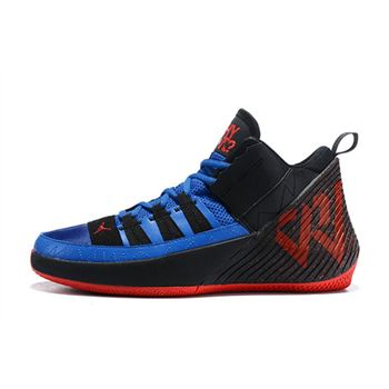 Jordan Why Not Zer0.1 Chaos Black/Royal Blue-Varsity Red