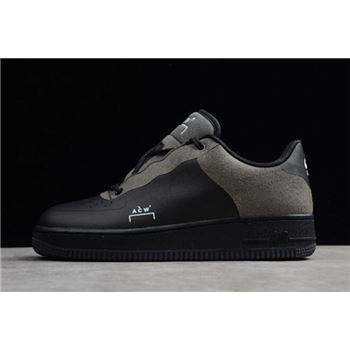 A-Cold-Wall* x Nike Air Force 1 Low Black/Dark Grey-White BQ6924-001