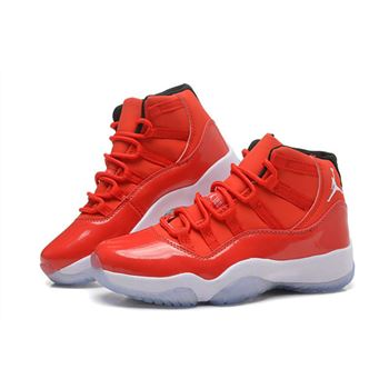 Men's and Women's Air Jordan 11 Carmelo Anthony Red PE