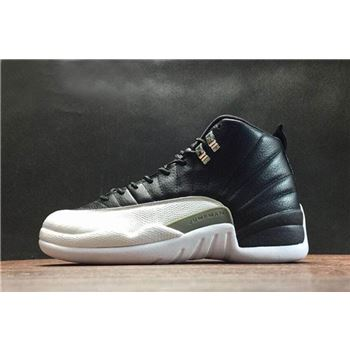 Air Jordan 12 Retro Playoffs Black/White-Varsity Red Men's and Women's Size 130690-001