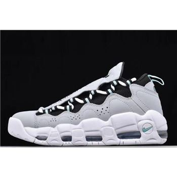 Nike Air More Money Wolf Grey/Black-Island Green AJ2998-003