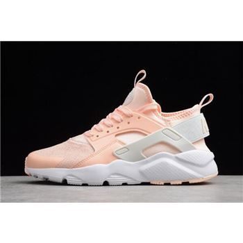 Womens Nike Air Huarache Run Ultra SE Crimson Tint/Sail-Royal Tint-White 942122-800