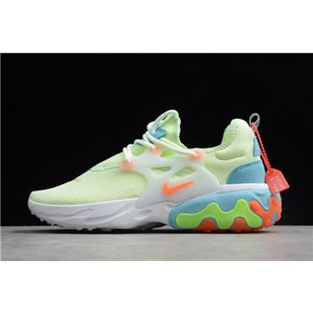 Nike Presto React Fluorescent Green/White/Blue/Orange AV2605-700