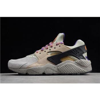 Nike Air Huarache Run Premium ACG Linen/Golden Beige-Black-Court Purple 704830-200