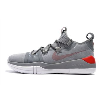 Kobe Bryant Nike Kobe AD Grey/Red-White