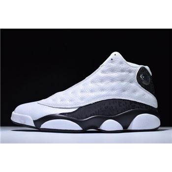 New Air Jordan 13 Love & Respect White/Black Men's Size 888164-112