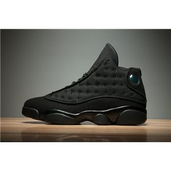 Air Jordan 13 Black Cat Black/Anthracite-Black Men's and Women's Size 414571-011