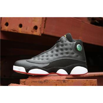 New Air Jordan 13 Playoffs Black/True Red-White 414571-004