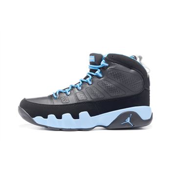 Air Jordan 9 Retro Slim Jenkins Black/Matte Silver-University Blue 302370-045