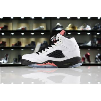 Air Jordan 5 GS Sunblush White/Sunblush-Black 440892-115 For Sale
