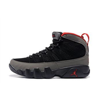 Air Jordan 9 Retro Charcoal Black/Dark Charcoal-True Red 302370-005