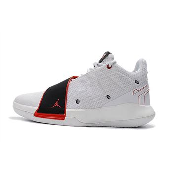 Chris Paul's New Jordan CP3.XI Home White/University Red-Black AA1272-101