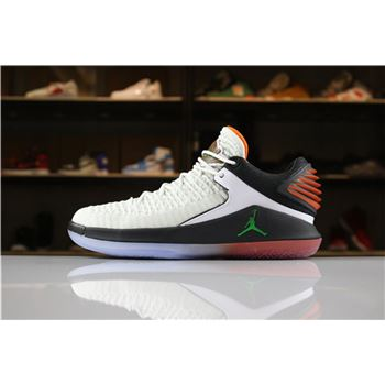 New Air Jordan 32 XXXII Low Gatorade Like Mike Summit White/Black-Team Orange AA1256-100