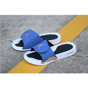 New Air Jordan Hydro 5 Retro Slide Obsidian/Bronze/White/Black 555501-408
