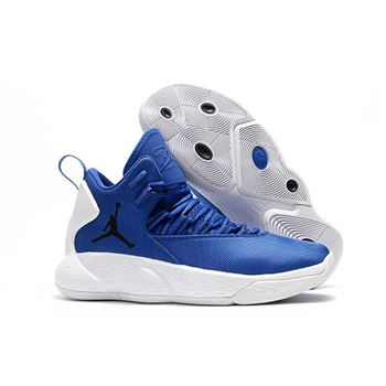 Jordan Super.Fly MVP PF Hyper Royal/White Men's Size AR0038-401