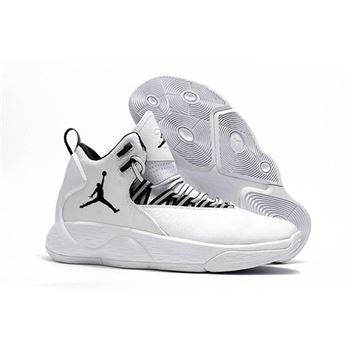 Jordan Super.Fly MVP PF White/Black AR0038-100 Free Shipping