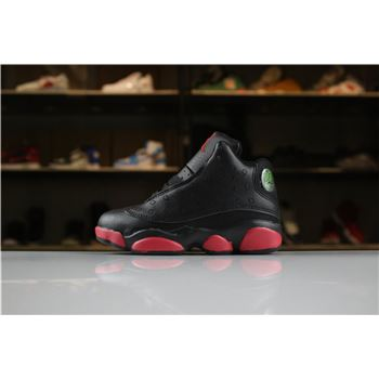 Kid's Air Jordan 13 Dirty Bred Black/Gym Red-Black For Sale