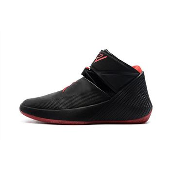 New Jordan Why Not Zer0.1 Bred Black/Gym Red Basketball Shoes AA2510-007
