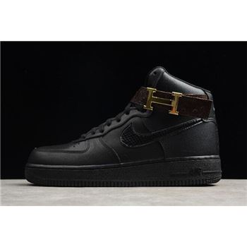 Cheap Nike Air Force 1 Mid '07 Triple Black AS8018-100 Free Shipping