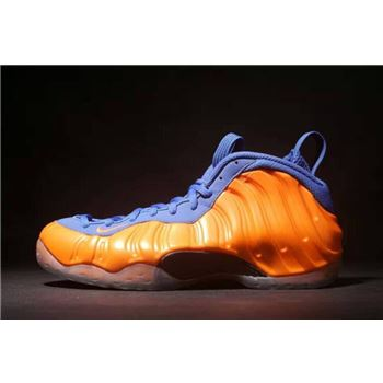 Nike Air Foamposite One Knicks Total Crimson/Game Royal-Black 314996-801