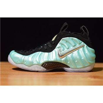 Nike Air Foamposite Pro Island Green/Metallic Platinum 624041-303