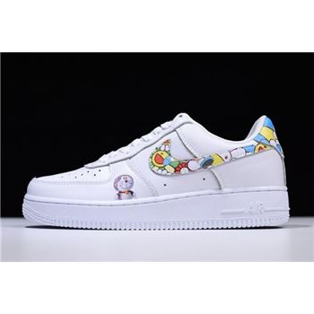 Men's Takashi Murakami x Doraemon x Nike Air Force 1 Low Free Shipping