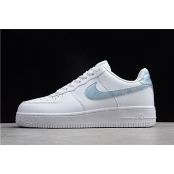 Nike Air Force 1 Low GS White/Royal Tint-White 314219-131