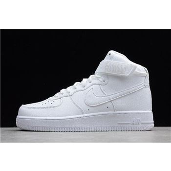 Nike Air Force 1 High '07 White/White Men's and Women's Size 315121-115