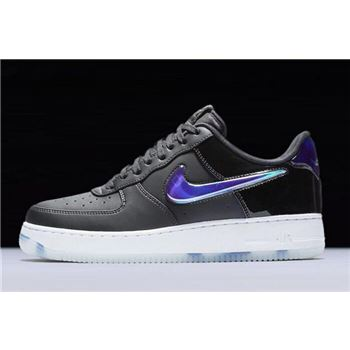 Nike Air Force 1 Low PlayStation Black/Varsity Royal-White BQ3634-001