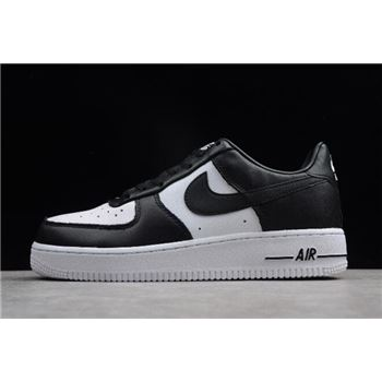 Nike Air Force 1 Low Tuxedo Black/White Men's Size AQ4134-100